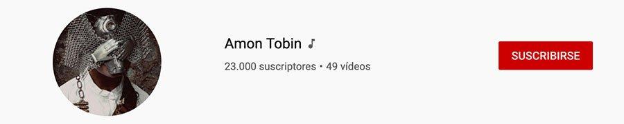 Canal oficial de artista en Youtube del músico y deejay Amon Tobin.